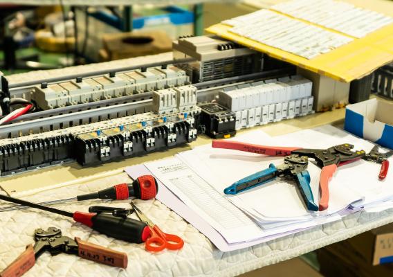 緻密な生産工程管理によるコストダウン