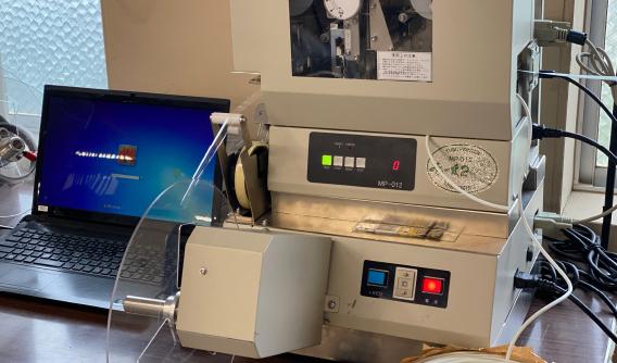 配線用マーカーチューブ印字機